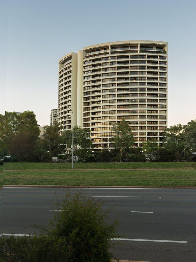 Torre Canberra de BreakFree imagens de stock royalty free