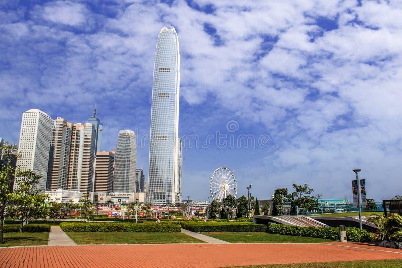 Torre central do Banco da China de Hong Kong foto de stock