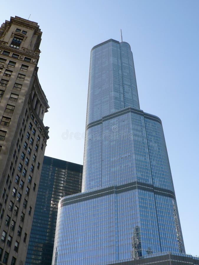 TORRE CHICAGO DO TRUNFO imagem de stock