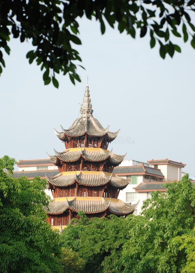 Torre chinesa antiga imagens de stock royalty free