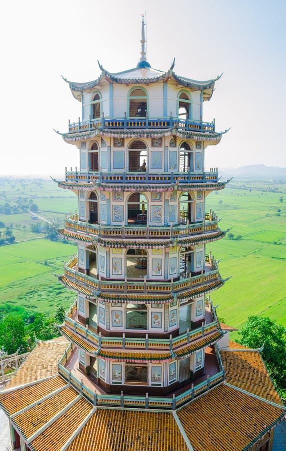 Torre chinesa antiga imagem de stock