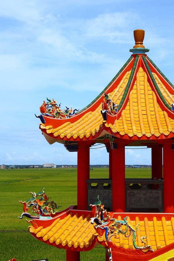 Torre chinesa do Pagoda foto de stock royalty free
