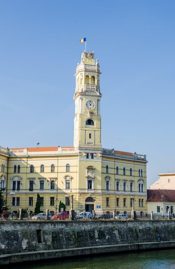 Torre da câmara municipal de Oradea fotos de stock royalty free