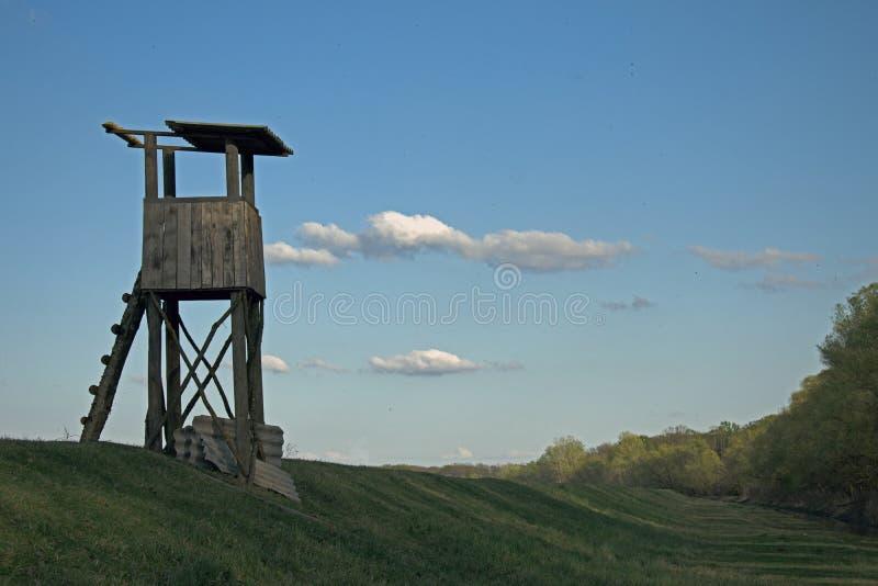 Torre da caça foto de stock
