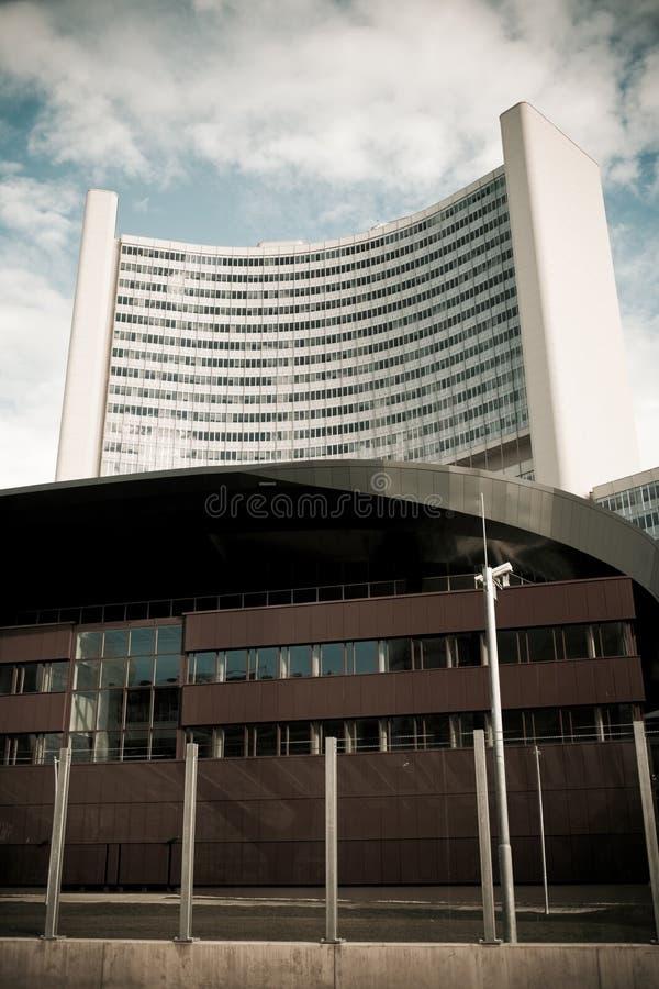 Torre da cidade da ONU foto de stock