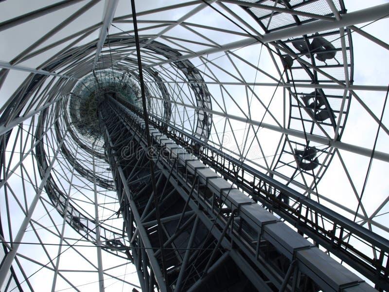 Torre da cidade em Batumi geórgia imagem de stock royalty free
