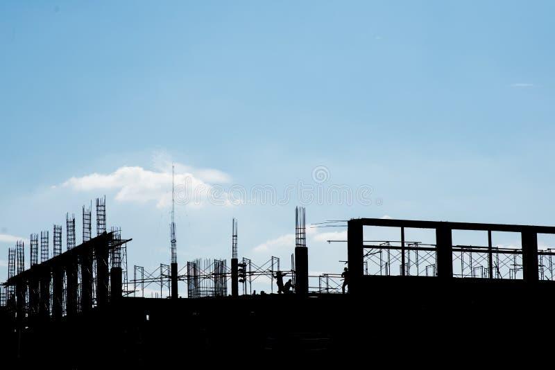 Torre da construção fotografia de stock