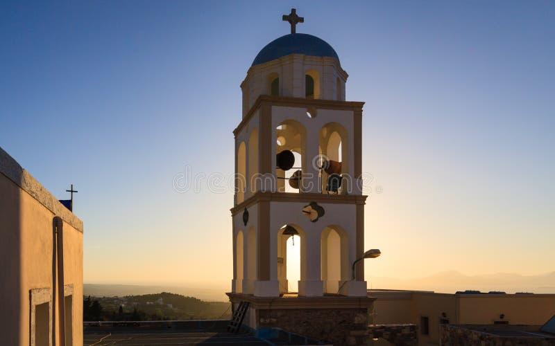 Torre da torre de sino imagens de stock royalty free
