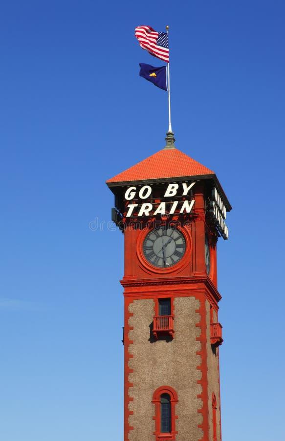Torre da estação da união. imagens de stock royalty free