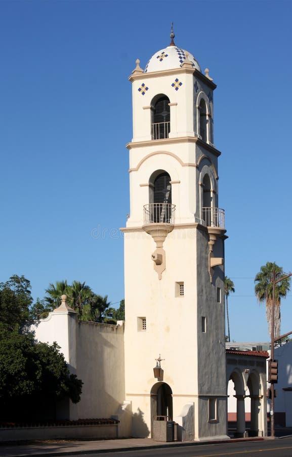 Torre da estação de correios de Ojai fotografia de stock royalty free
