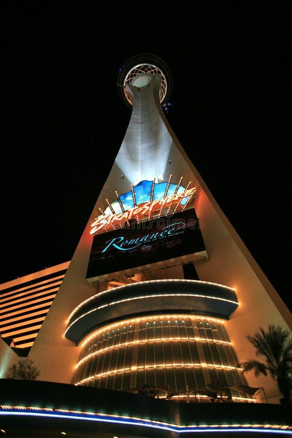 Torre da estratosfera fotografia de stock royalty free