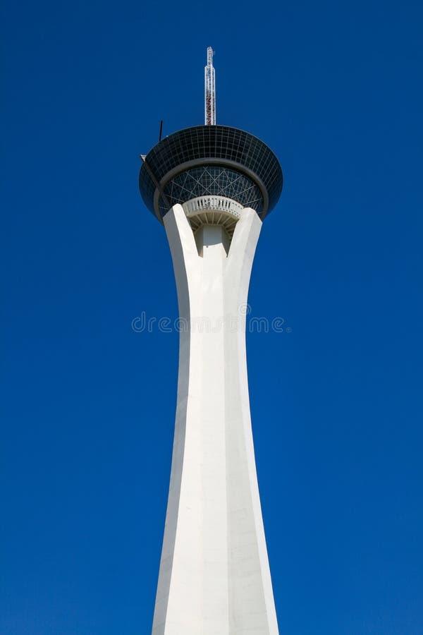 Torre da estratosfera fotografia de stock