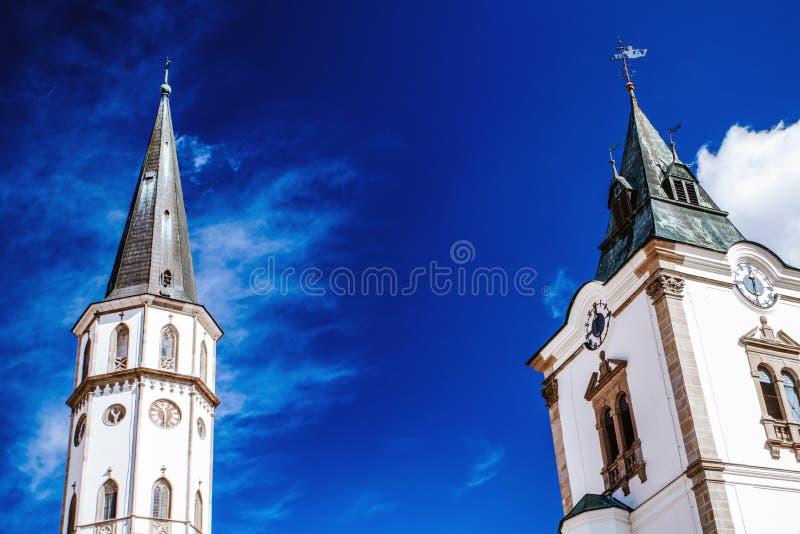 Torre da igreja imagens de stock