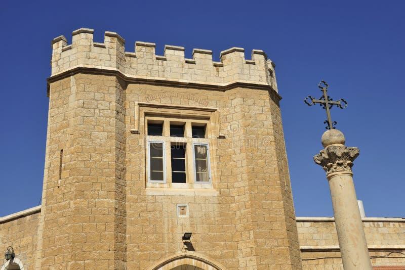 Torre da igreja do St. Georges. foto de stock royalty free