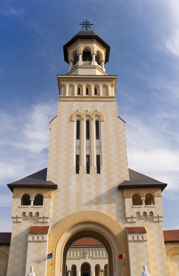 Torre da igreja ortodoxa imagens de stock royalty free