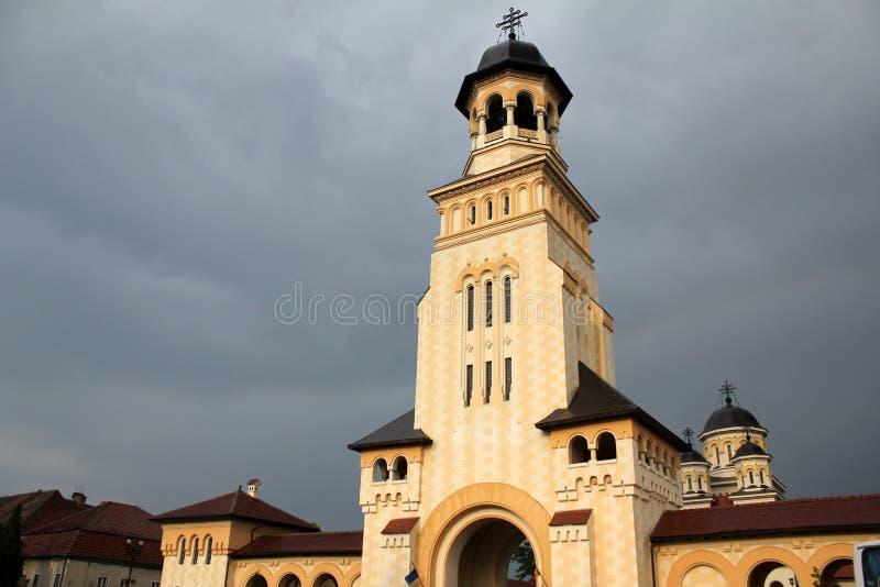 Torre da igreja ortodoxa fotografia de stock royalty free