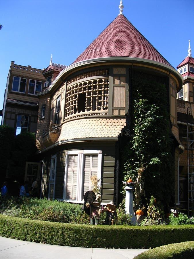 Torre da mansão de Winchester - San Jose imagens de stock