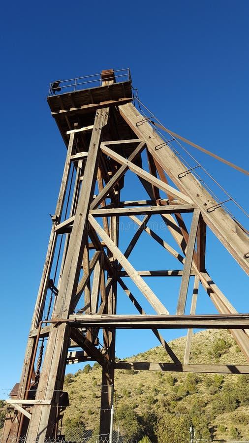 Torre da mina fotos de stock royalty free