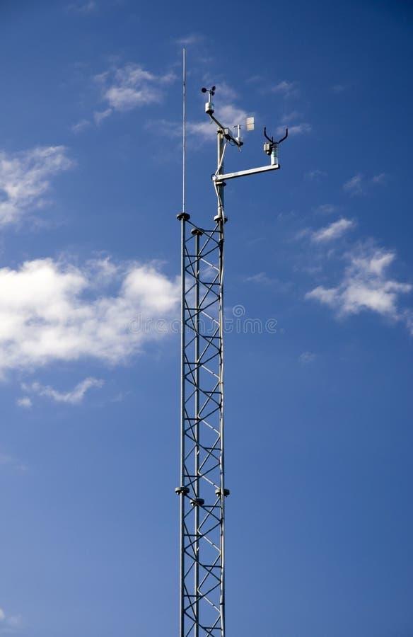 Torre da monitoração do tempo imagens de stock