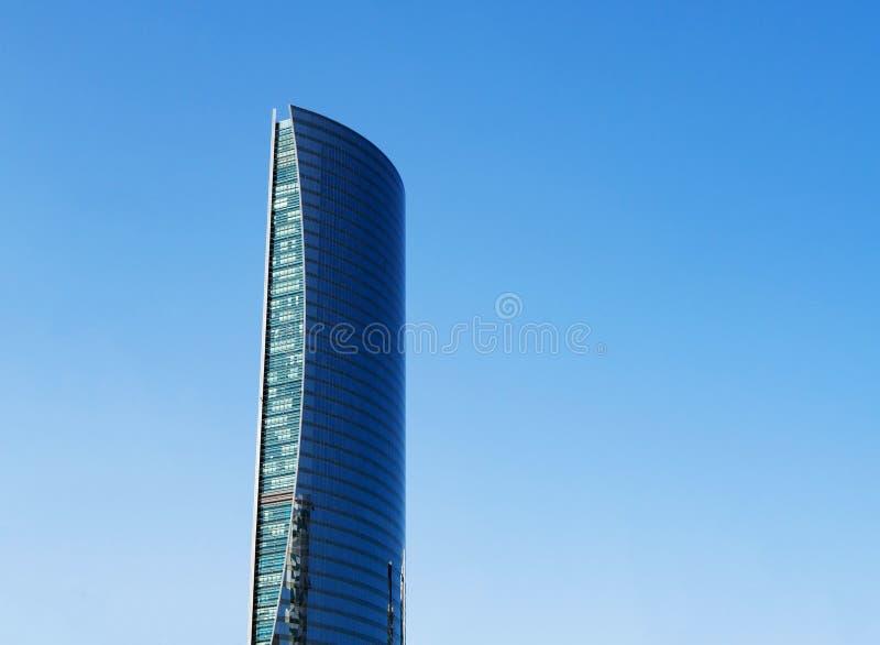 Torre da navegação em Doha, Catar, copyspace fotografia de stock