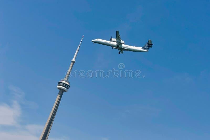 Torre da NC de Toronto imagens de stock