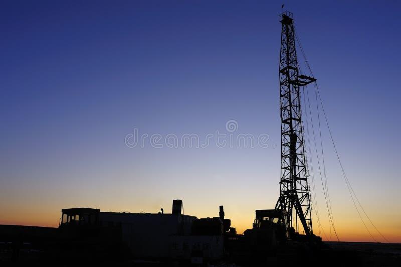 Torre da perfuração fotografia de stock royalty free