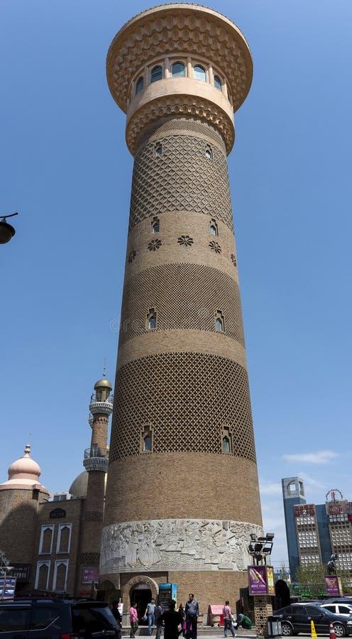 Torre da Rota da Seda fotografia de stock