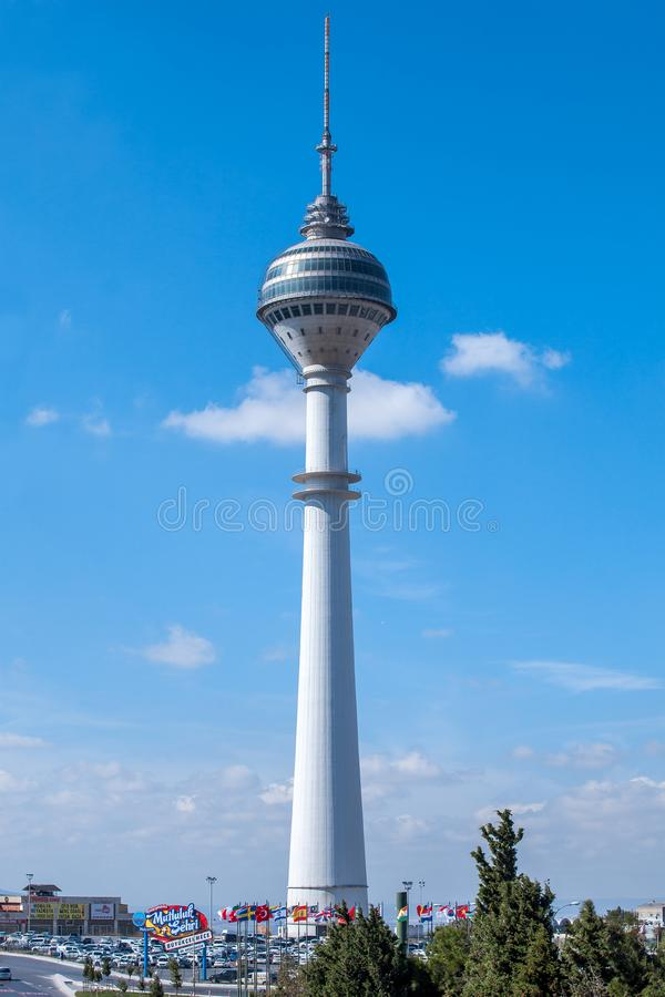 Torre da tevê de Beylikduzu imagem de stock royalty free