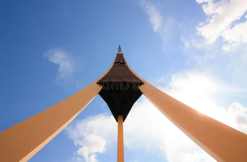 Torre da tevê de Riga fotografia de stock royalty free