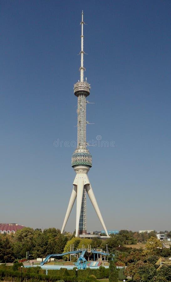 Torre da tevê de Tashkent uzbekistan fotografia de stock royalty free