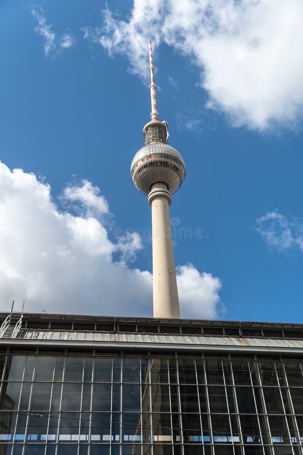 Torre da tev? de Berlim foto de stock royalty free