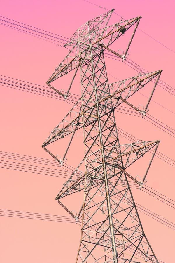 Torre da transmissão foto de stock royalty free