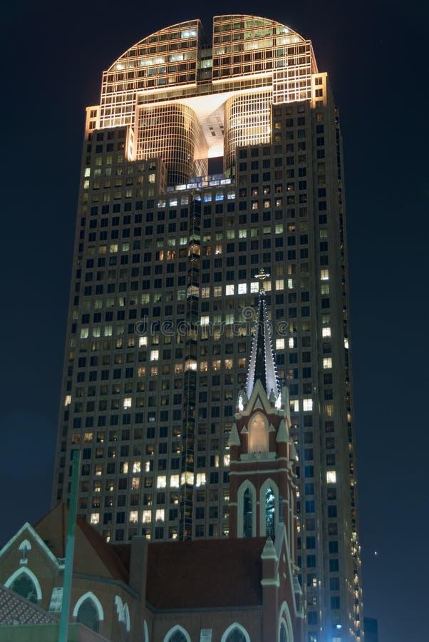 Torre Dallas da perseguição imagem de stock