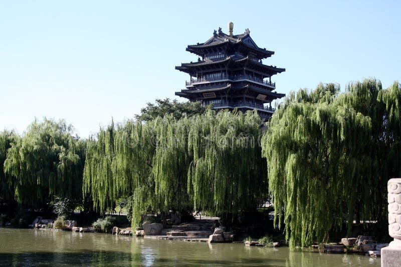 Torre @ Daming Lake, Jinan China de Chaoran foto de archivo