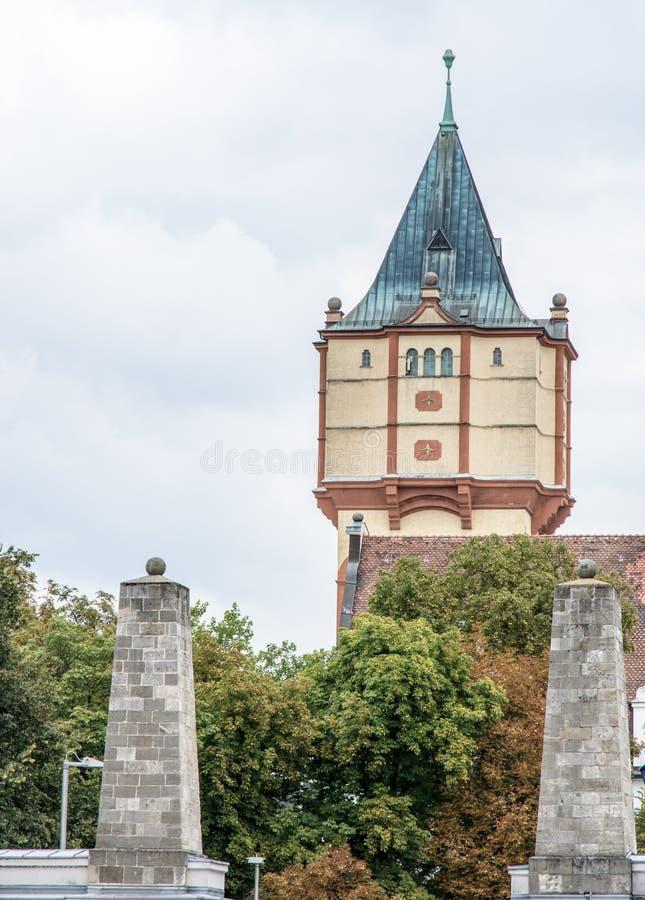 Torre de água de Straubing fotos de stock royalty free