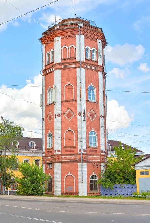Torre de água velha em Vologda fotos de stock
