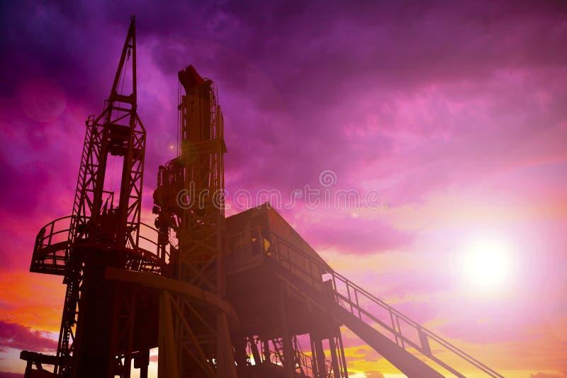 Torre de óleo fotos de stock royalty free