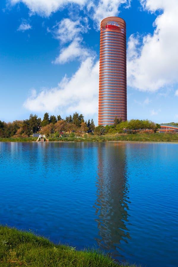 Torre de Σεβίλλη στη Σεβίλη Ανδαλουσία Ισπανία στοκ φωτογραφία