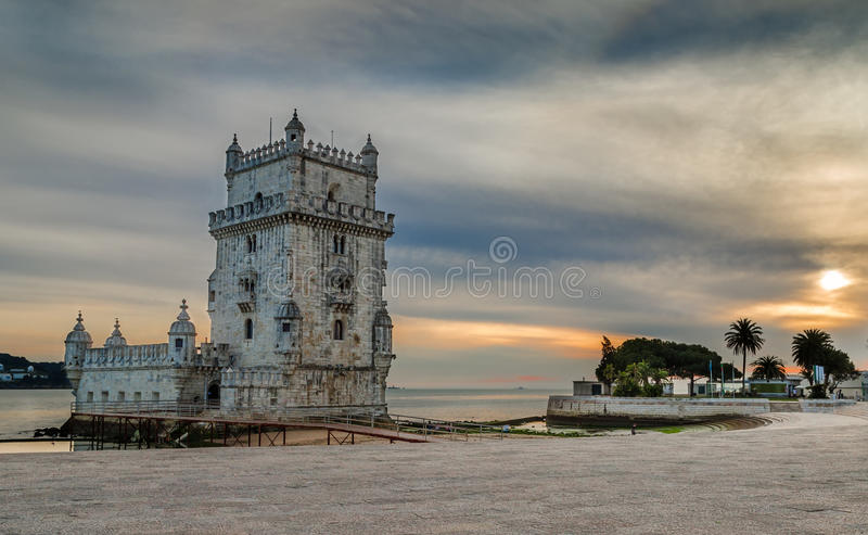 Torre de贝拉母,里斯本 免版税库存照片