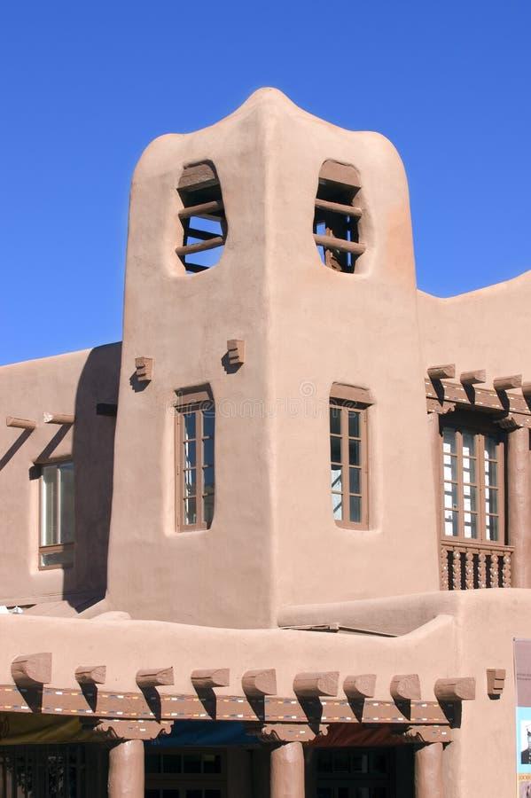 Torre de Adobe imagen de archivo