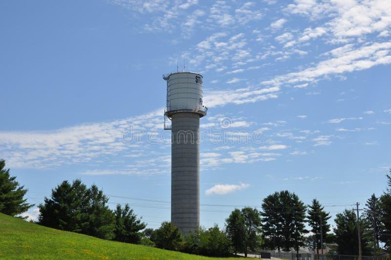 Torre de agua imagen de archivo libre de regalías