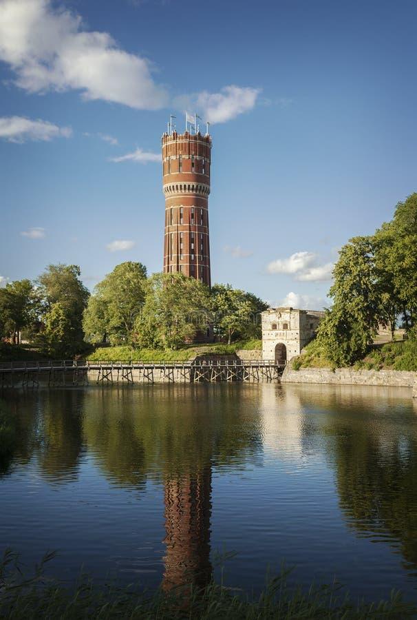 Torre de agua de Kalmar foto de archivo libre de regalías