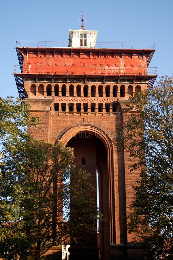 Torre de agua del Victorian imagen de archivo libre de regalías