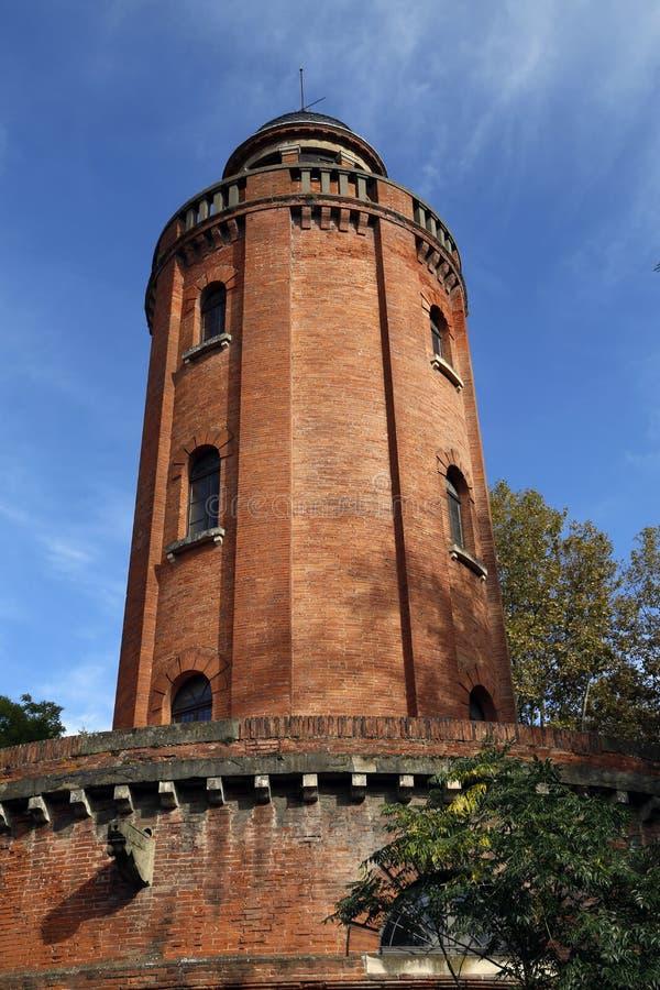Torre de agua en Toulouse imágenes de archivo libres de regalías