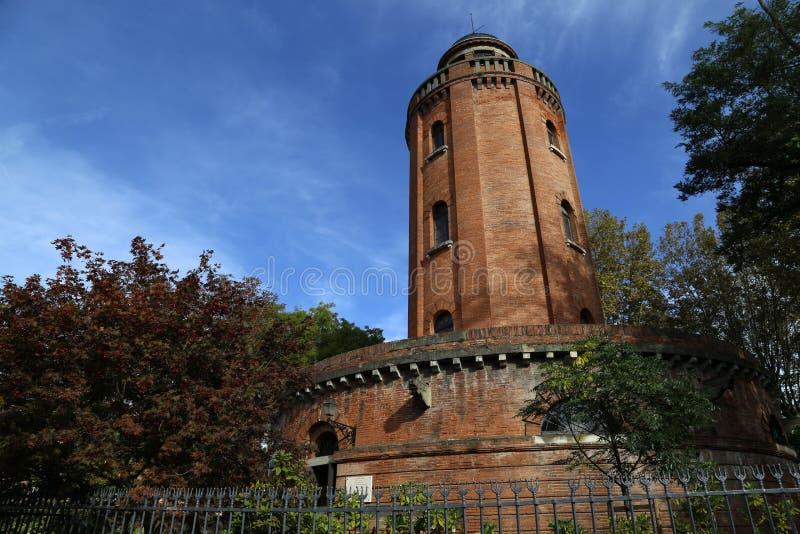 Torre de agua en Toulouse fotografía de archivo libre de regalías