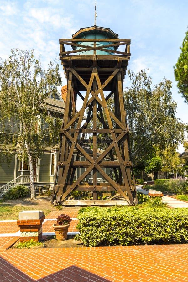 Torre de agua vieja foto de archivo