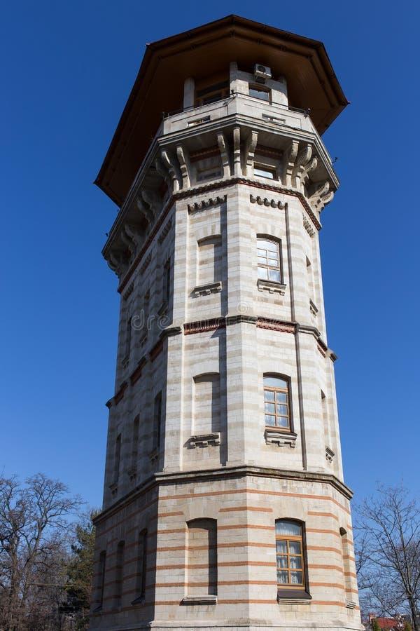 Torre de agua vieja en Chisinau fotografía de archivo