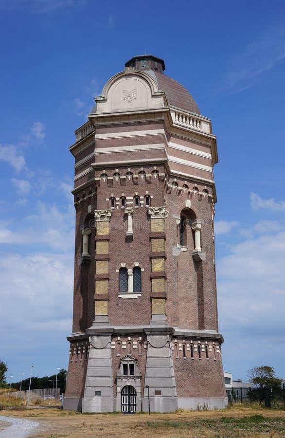 Torre de agua vieja en los Países Bajos foto de archivo