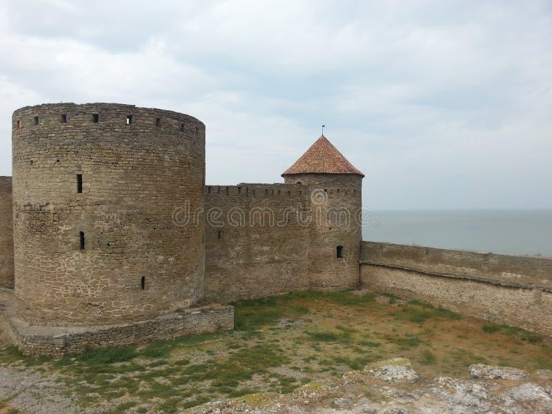 Torre de Akkerman e um muralha imagem de stock royalty free