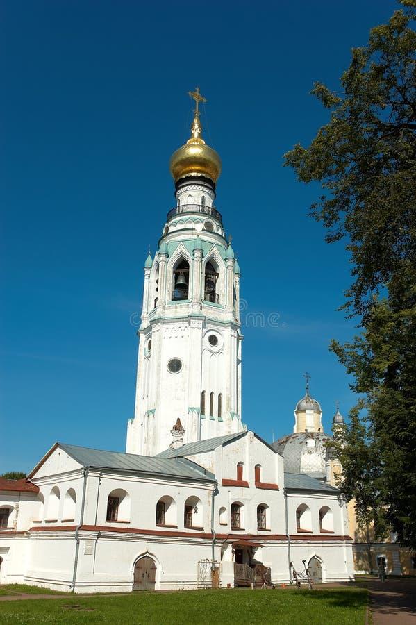 Torre de alarma antigua rusa imagen de archivo